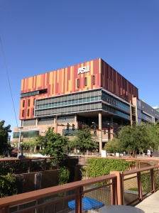 The Walter Cronkite School of Journalism and Mass Communication. Photo by Sam Rabadi
